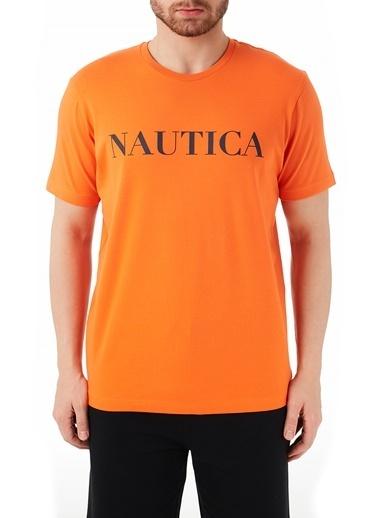 Nautica Tişört Oranj
